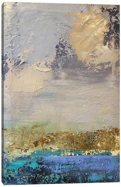 Foggy Canvas Art Print