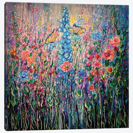 Wildflowers 3-Piece Canvas #OLE108} by OLena Art Canvas Art