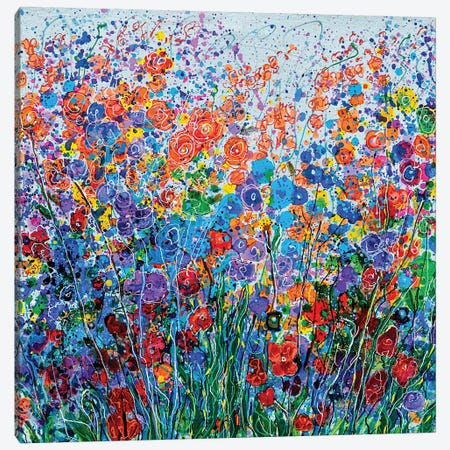 Summer Meadow Canvas Print #OLE118} by OLena Art Canvas Print
