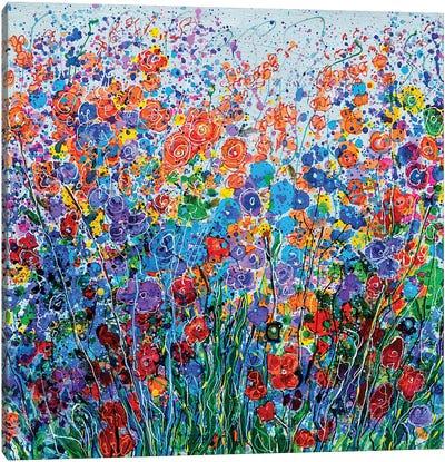 Summer Meadow Canvas Art Print