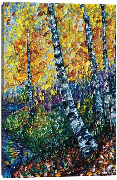 Colorado Landscape Painting Canvas Art Print