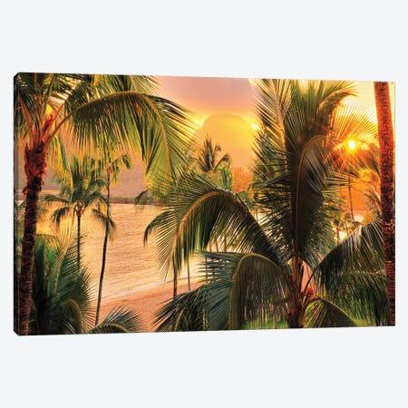 Kauai Tropical Island   Canvas Print #OLE132} by OLena Art Canvas Print