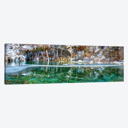 A Serene Chill - Hanging Lake Colorado Canvas Print #OLE136} by OLena Art Canvas Artwork