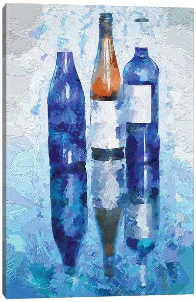 Wine Reflection Canvas Art Print