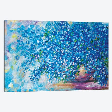 Forget-Me-Not Canvas Print #OLE169} by OLena Art Canvas Wall Art