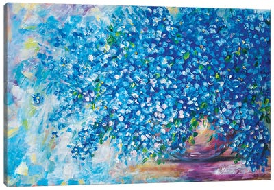 Forget-Me-Not Canvas Art Print