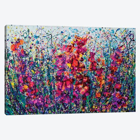 The Breath Of Summer 3-Piece Canvas #OLE188} by OLena Art Canvas Artwork
