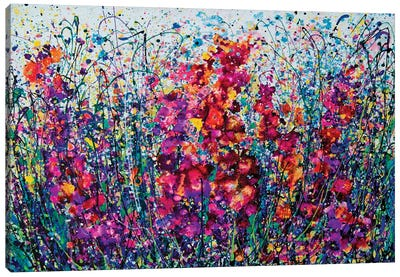 The Breath Of Summer Canvas Art Print