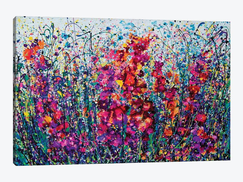The Breath Of Summer by OLena Art 1-piece Canvas Wall Art