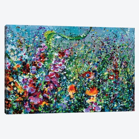 Whimsical Spring Canvas Print #OLE193} by OLena Art Canvas Art Print