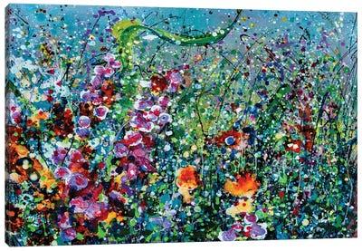 Whimsical Spring Canvas Art Print
