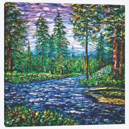 Summer Time Magic I Canvas Print #OLE196} by OLena Art Canvas Artwork