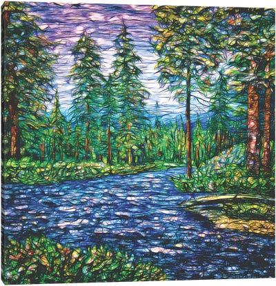 Summer Time Magic I Canvas Art Print
