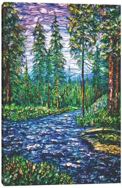 Summer Time Magic II Canvas Art Print