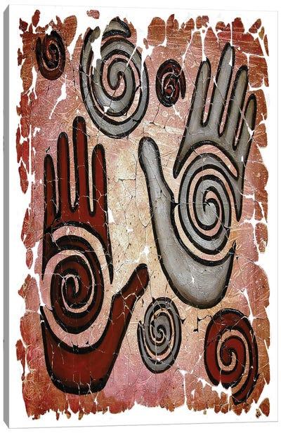 Healing Hands Fresco Vertical Canvas Art Print