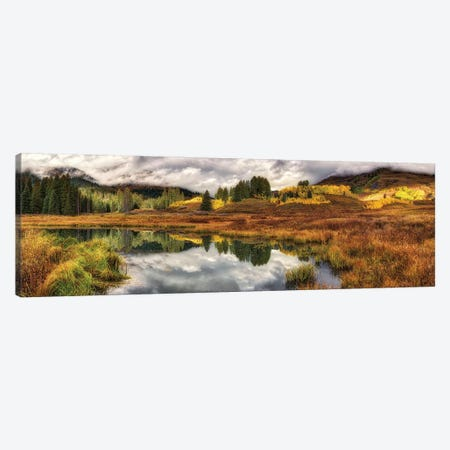 Transition Of The Seasons In Rocky Mountains Colorado Canvas Print #OLE204} by OLena Art Canvas Artwork