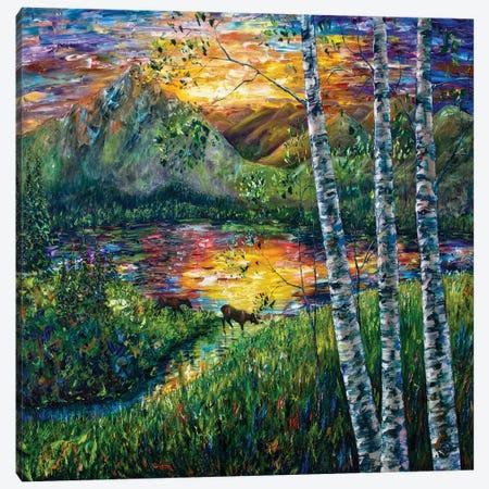 Sleeping Meadow - Colorado Canvas Print #OLE213} by OLena Art Canvas Wall Art
