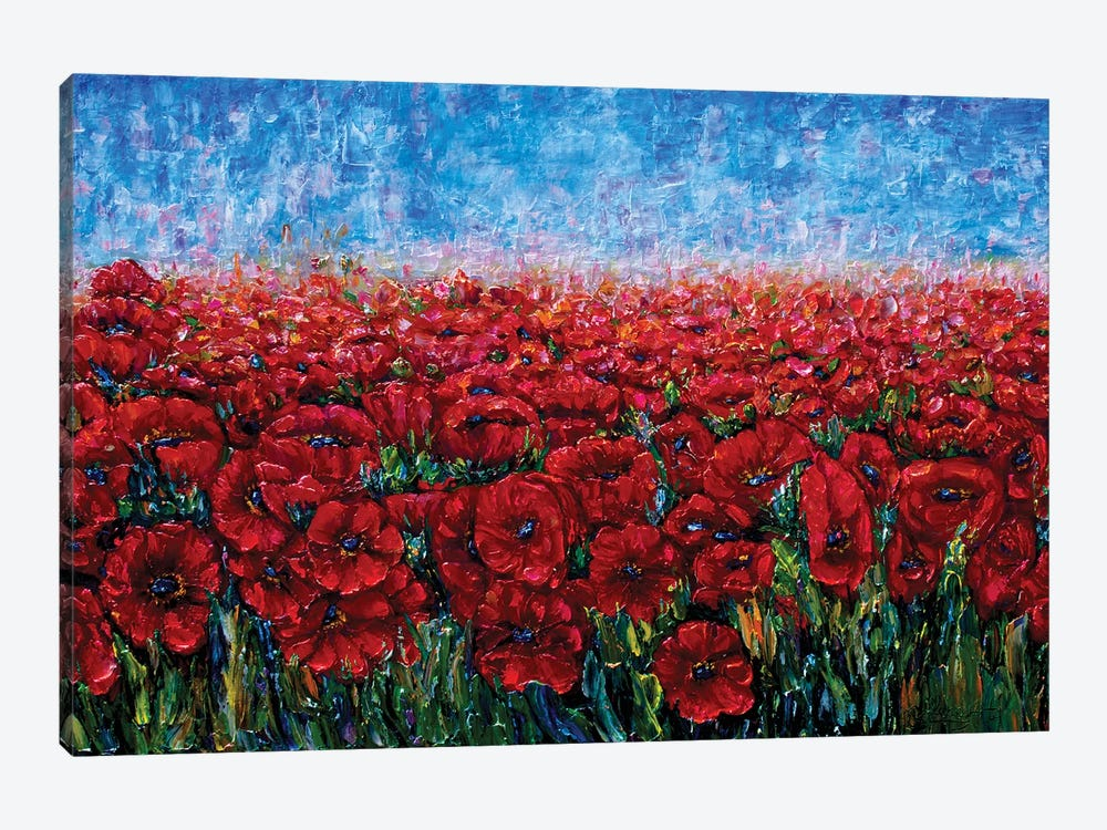 Field Of Happiness by OLena Art 1-piece Canvas Art