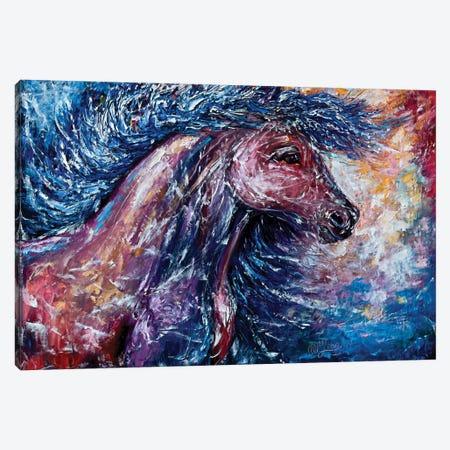 I Am The Storm Canvas Print #OLE27} by OLena Art Canvas Artwork