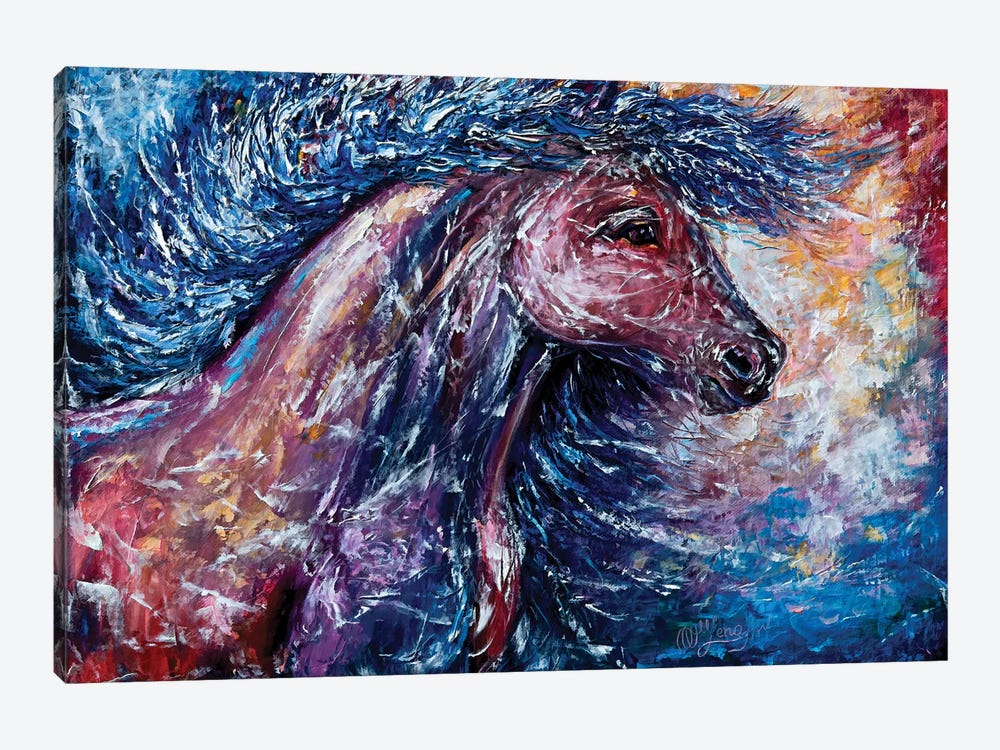 I Am The Storm by OLena Art 1-piece Canvas Wall Art