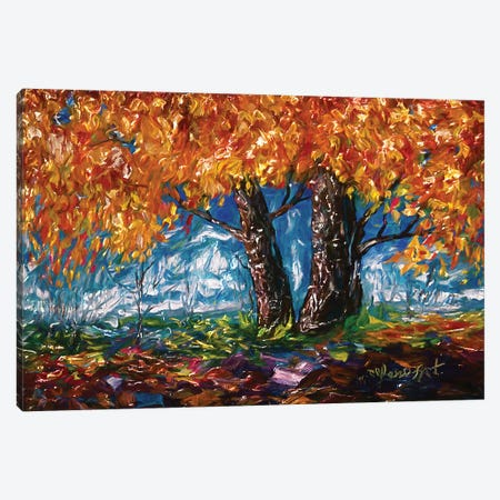 Impressionist Tree Canvas Print #OLE30} by OLena Art Canvas Wall Art