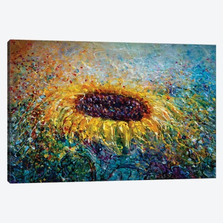 In The Swirls Of Sunshine Canvas Print #OLE31} by OLena Art Canvas Artwork