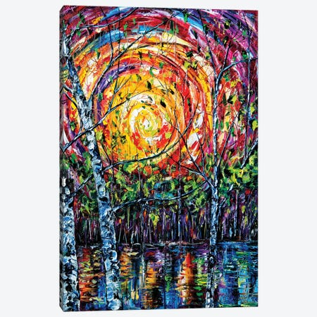 In The Vortex Of Nature Canvas Print #OLE32} by OLena Art Canvas Artwork