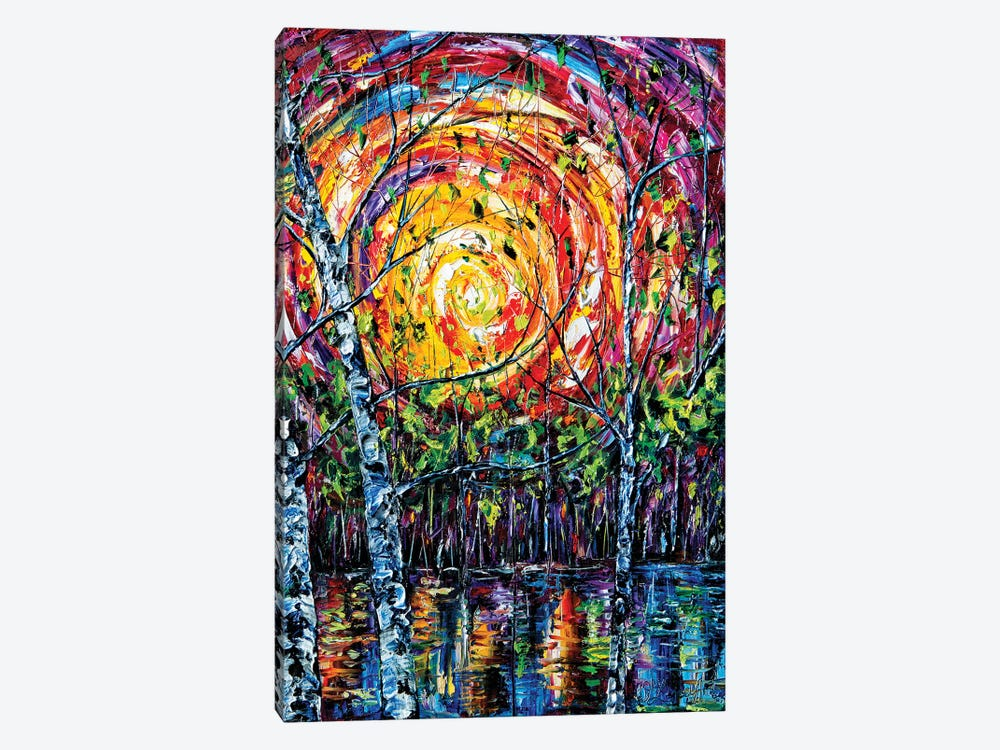 In The Vortex Of Nature by OLena Art 1-piece Canvas Art