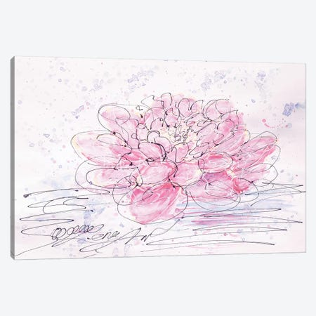 Lotus Canvas Print #OLE36} by OLena Art Canvas Print