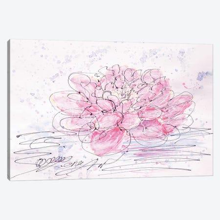 Lotus Canvas Print #OLE36} by OLena Art Canvas Print