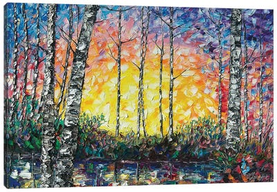 Morning Breaks Canvas Art Print