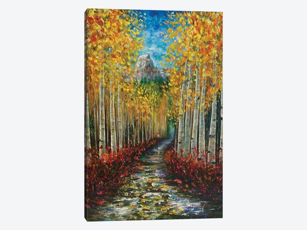 Nelly Creek by OLena Art 1-piece Canvas Art Print