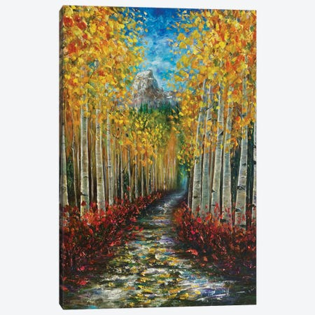 Nelly Creek Canvas Print #OLE40} by OLena Art Canvas Art Print