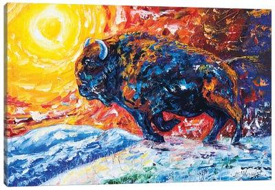 Wild The Storm Canvas Art Print