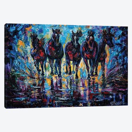 Roaming Free Canvas Print #OLE54} by OLena Art Canvas Art Print