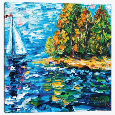 Sailing Dream Canvas Print #OLE56} by OLena Art Canvas Print