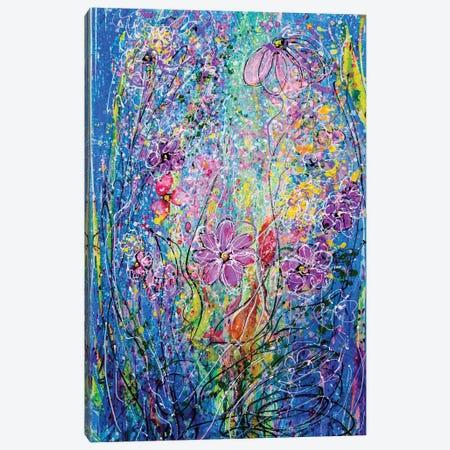 Spring Flowers Canvas Print #OLE57} by OLena Art Art Print