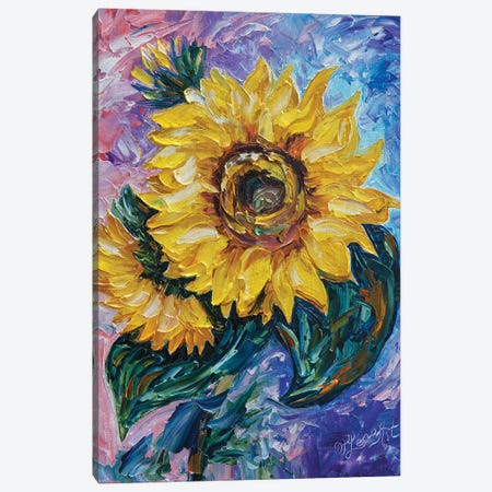 That Sunflower Canvas Print #OLE62} by OLena Art Art Print