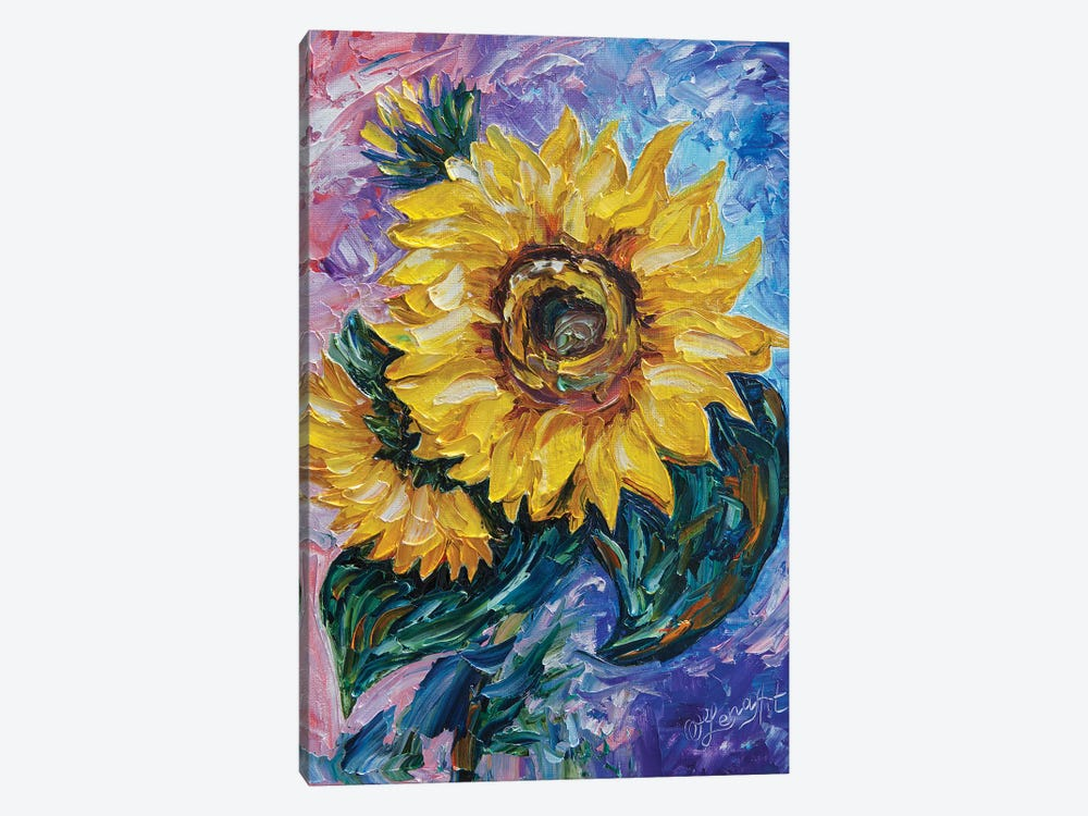 That Sunflower by OLena Art 1-piece Art Print