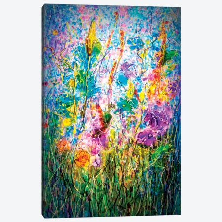 Summer Meadow Canvas Print #OLE82} by OLena Art Canvas Art Print