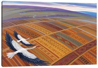 Above Homeland Canvas Art Print