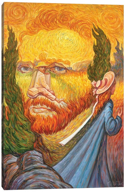Van Gogh Double Portrait Canvas Art Print