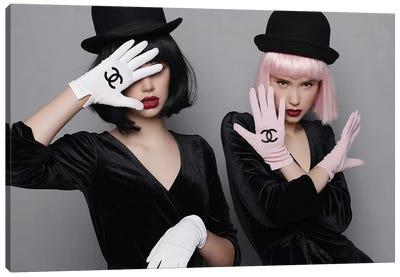 Chanel Glove Canvas Art Print