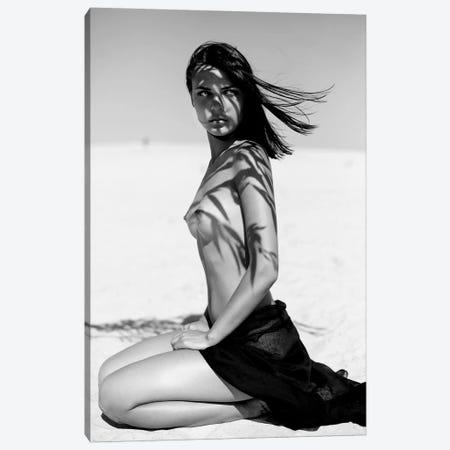 She Canvas Print #OLH21} by Olha Stepanian Canvas Artwork