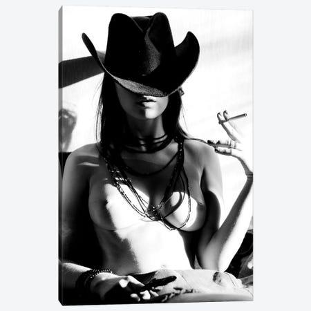 Smoke 'Em Canvas Print #OLH22} by Olha Stepanian Canvas Wall Art