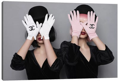 All I See Is Chanel Canvas Art Print
