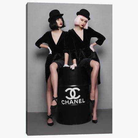 Chanel Fuel I Canvas Print #OLH8} by Olha Stepanian Canvas Print