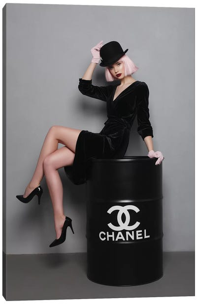 Chanel Fuel II Canvas Art Print