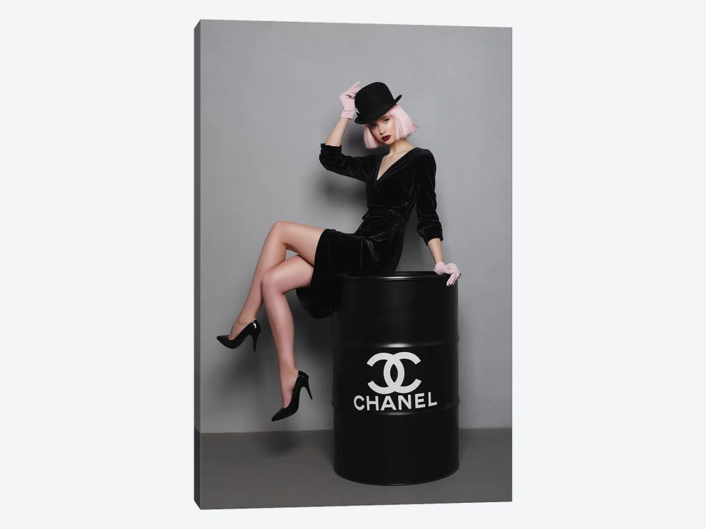 Chanel Fuel II by Olha Stepanian 1-piece Canvas Art Print