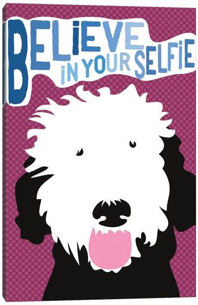 Believe In Your Selfie Canvas Art Print